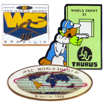 WS XI  Three Souvenir Pins