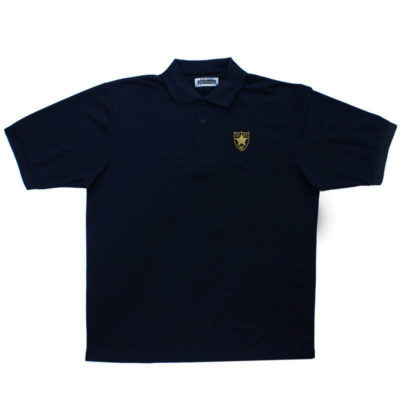 Mens 100% Polyester Shirt Navy